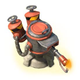 Flamethrower - Level 5