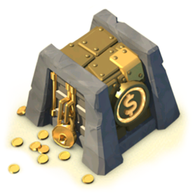 The Gold Storage increases your Gold storage capacity.