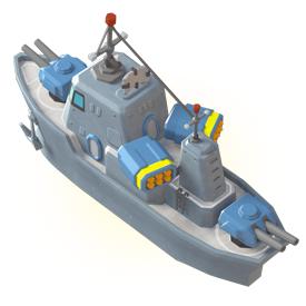 Gunboat - Level 18