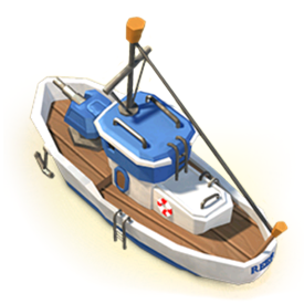 Support buildings are used to aid you with all kinds of common tasks in Boom Beach.