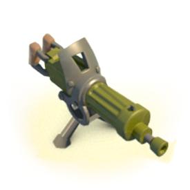 machine guns boom