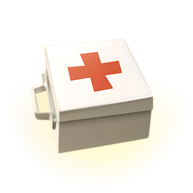 Heal your troops on the battlefield. Troops inside the Medkit's area of effect will recover health.