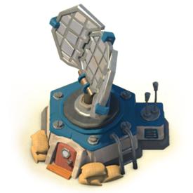 Upgrading the Radar allows you to explore more of the archipelago.