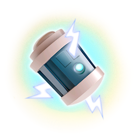 The Shock Bomb freezes anything it hits for a short time. Use it to disable key defensive buildings. If you hit your own troops, they will be stunned as well!