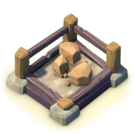 The Stone Storage increases your Stone storage capacity.