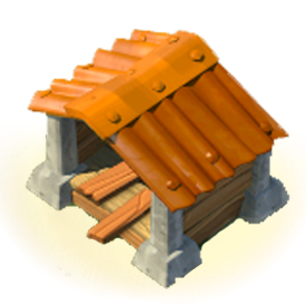The Wood Storage increases your Wood storage capacity.