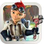 Some people just love gadgets. Cpt. Everspark takes after her mom, who has had a long career in weapons development
